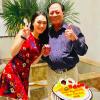 Bận chạy show khắp nơi, Mỹ Tâm vẫn về quê nhà để mừng sinh nhật bố
