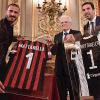 Juventus và AC Milan hội ngộ cùng Tổng thống Italy trước thềm đại chiến