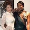 Thật ngưỡng mộ! Lý Nhã Kỳ mời được cả Naomi Campbell sang Việt Nam