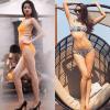 Quá trình thay đổi bất ngờ về vóc dáng của các nàng Hậu với bikini