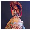 Không cần phiên dịch, Ngọc Lan Vy tự tin nói tiếng Anh trong phần thi ứng xử Hoa hậu Hoàn vũ nhí