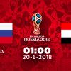 1h00' ngày 20/6/2018: Nga vs Ai Cập: Gấu Nga tiếp tục