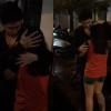 Noo Phước Thịnh xúc động ôm chầm, dùng tay che mưa cho fan nữ đứng đợi mình suốt 2 ngày