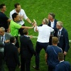 Kết thúc trận đấu, ban huấn luyện Đức và Thụy Điển lao vào đòi ăn thua với nhau