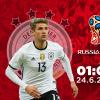 01h00 ngày 24/06, Đức vs Thụy Điển: Bản lĩnh trong giông bão