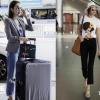 Thanh Hằng - Minh Hằng sành điệu ở sân bay trước vòng casting The Face ở Hà Nội