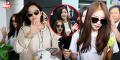 """Cận cảnh nhan sắc xinh đẹp, đáng yêu """"hết cỡ"""" của 4 cô gái T-ara tại sân bay"""