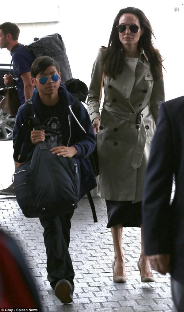 Ngỡ ngàng trước sự trưởng thành của con nuôi gốc Việt nhà Jolie-Pitt