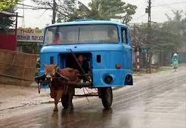 Xe bò thế kỷ 21 không sợ mưa không sợ nắng.