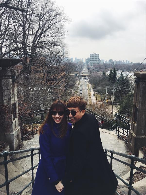 Vợ chồng Trấn Thành - Hari Won tình tứ đi du lịch nơi trời Tây - Tin sao Viet - Tin tuc sao Viet - Scandal sao Viet - Tin tuc cua Sao - Tin cua Sao