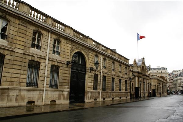 Dinh thự cổ kính của Tổng thống Pháp được xây từ năm 1840.(Ảnh: Internet)