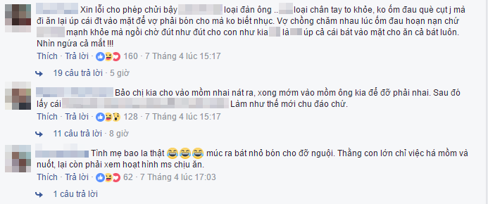 Những bình luận bức xúc từ dân mạng.