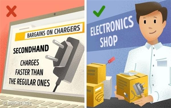 Những cách dùng sai lầm khiến đồ điện tử giảm tuổi thọ nhanh chóng