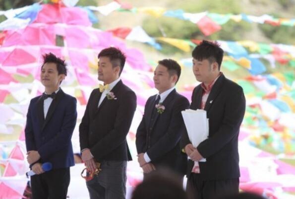 phù rể trong đám cưới sao trung