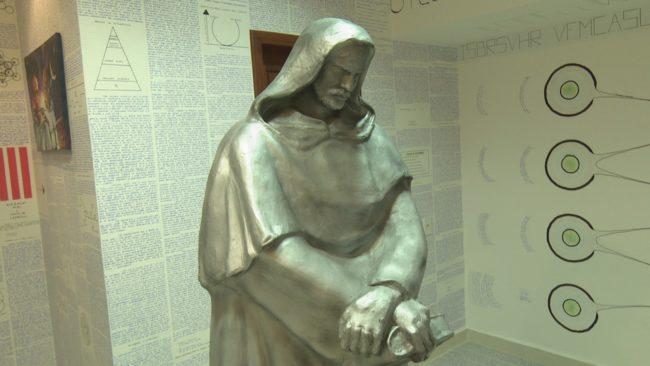Bức tượngGiordano Bruno (Nguồn: Internet)