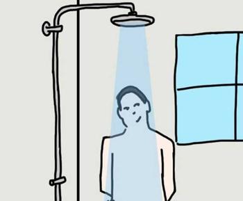 Thói quen tắm tiết lộ thế mạnh giúp bạn thành công