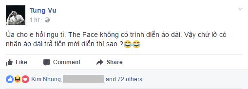 Khi NTK Tùng Vũ viết status đá xéo Hoàng Thùy thì Kim Nhung vào hưởng ứng. - Tin sao Viet - Tin tuc sao Viet - Scandal sao Viet - Tin tuc cua Sao - Tin cua Sao