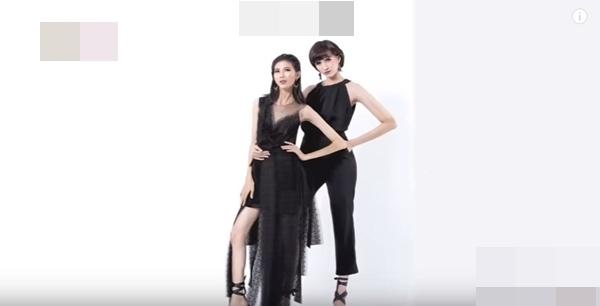 Về độ gợi cảm và thần sắc thì Cao Ngân (bên trái) ghi điểm tuyệt đối với chiếc váy cúp ngực và khoe chân dài.