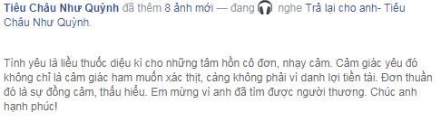 """Sau thông tin trên, """"người yêu cũ"""" của Khắc Việtthổ lộ: """"Em mừng vì anh đã tìm được người thương. Chúc anh hạnh phúc!"""". - Tin sao Viet - Tin tuc sao Viet - Scandal sao Viet - Tin tuc cua Sao - Tin cua Sao"""
