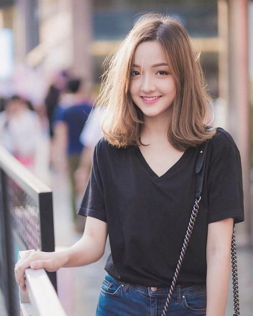 Tan chảy trước vẻ đẹp ''như kẹo ngọt'' của hot girl Thái Lan sinh năm 1999