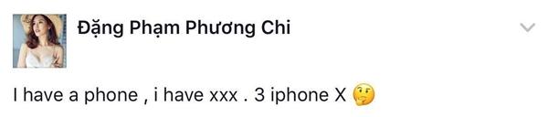 Phương Chi - team Hoàng Thùy cũng mong muốn có được iphone X ngay. - Tin sao Viet - Tin tuc sao Viet - Scandal sao Viet - Tin tuc cua Sao - Tin cua Sao