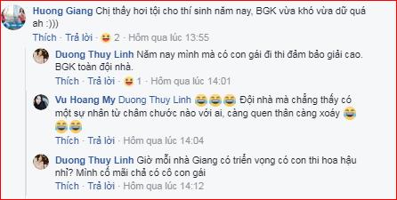 Giám khảo Hương Giang cũng tranh luận về sở thích shopping. Côđùa rằng BGK năm nay vừa khó vừa dữ.