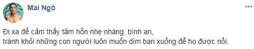 Sau scandal bi Pham Huong chen ep, Mai Ngo len tieng: 'Nhung con nguoi muon dim ban de duoc noi'