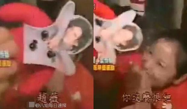 Hình nộm Triệu Vy được tìm thấy trong tủ quần áo của Lâm Tâm Như.