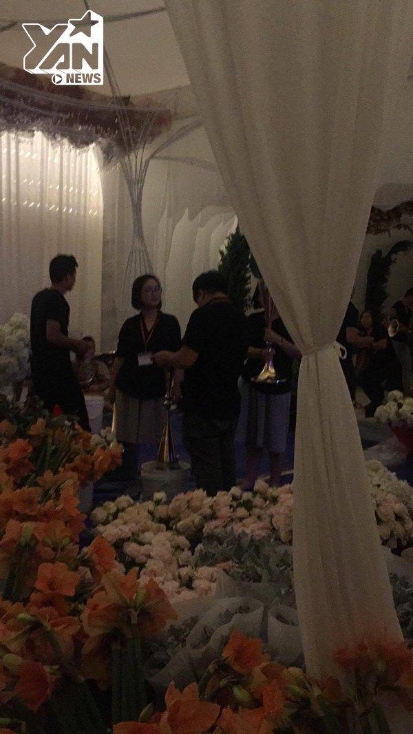 Có thể thấy, hoa hồng là loại hoa sẽ được sử dụng nhiều nhất trong tiệc cưới của Đặng Thu Thảo và doanh nhân Trung Tín. - Tin sao Viet - Tin tuc sao Viet - Scandal sao Viet - Tin tuc cua Sao - Tin cua Sao