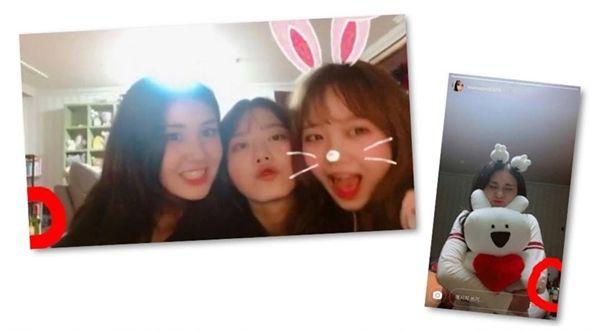 Cộng đồng mạng tìm thấy chai soju đằng sau 3 cựu thành viên I.O.I.