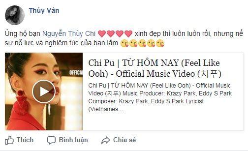 Cô giúpChi Pu chia sẻ MV rộng rãi đến người hâm mộ. - Tin sao Viet - Tin tuc sao Viet - Scandal sao Viet - Tin tuc cua Sao - Tin cua Sao
