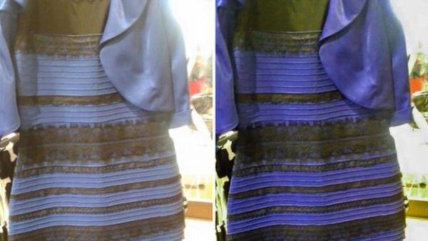 Chiếc váy gây bão một thời gian dài vì màu sắc của nó