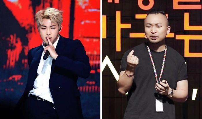 Nhà lãnh đạo của Google, ông Cho Young Min đã bày tỏ sự ngưỡng mộ trước tài lãnh đạo của Rap Monster.