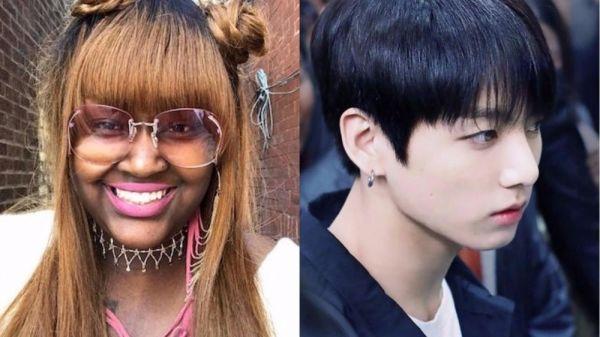 """Nữ rapper người Mỹ gần đây đang nhận """"gạch đá"""" vì công khai quấy rối Jungkook trên trang mạng Twitter."""