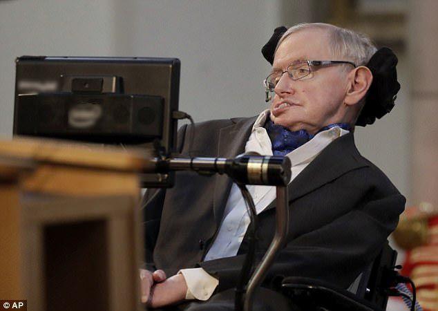 Giáo sưStephen Hawking.