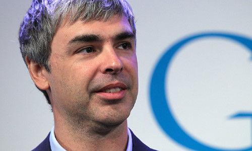 Larry Page người sáng lập công cụ tìm kiếmGoogle