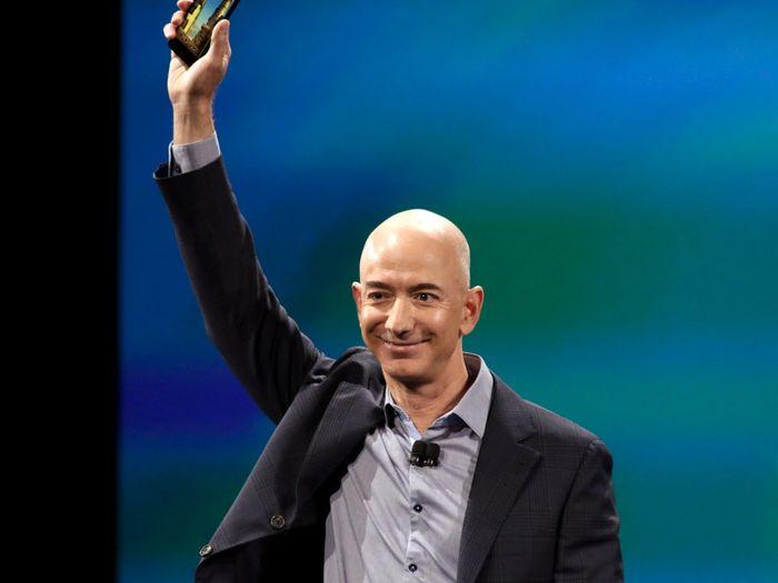 Ông chủ tập đoàn Amazon