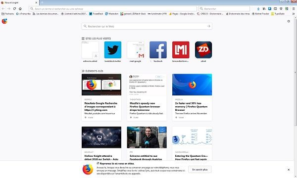 Không chỉ chạy nhanh, Firefox 57 mới còn giúp bạn dư ra khá nhiều bộ nhớ cho việc khác.