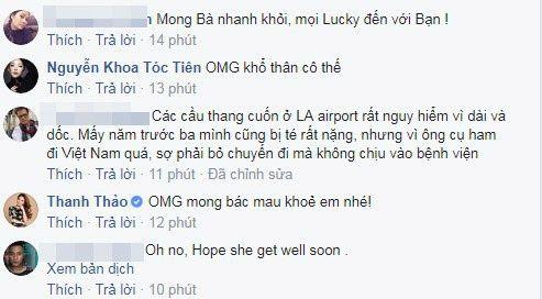 Ca sĩ Tóc Tiên và Thanh Thảo cũng gửi tới lời hỏi thăm đến mẹ Đình Bảo. - Tin sao Viet - Tin tuc sao Viet - Scandal sao Viet - Tin tuc cua Sao - Tin cua Sao