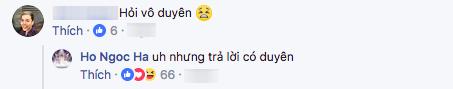 """Chẳng những vậy, khi hội thoại với bạn bè, Hà Hồ còn khen Kim Lý trả lời """"có duyên"""". - Tin sao Viet - Tin tuc sao Viet - Scandal sao Viet - Tin tuc cua Sao - Tin cua Sao"""