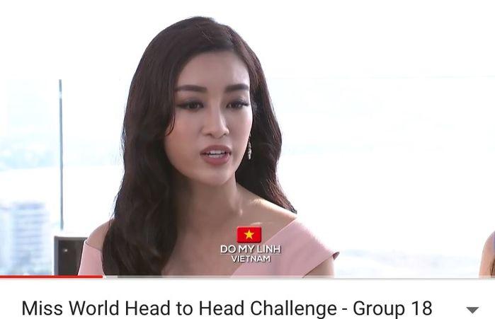 Clip: Phần thi hùng biện bằng tiếng Anh xuất sắc của  Đỗ Mỹ Linh ở Miss World 2017