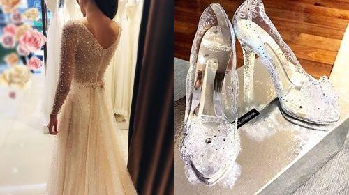 Từng chi tiết nhỏ đều được cô tỉ mỉ chuẩn bị trong đám cưới