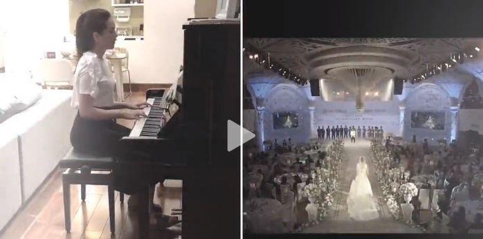 MC Mai Ngọc trổ tài đàn piano và chia sẻ