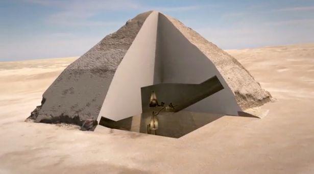 Vị căn phòng bí mật trong kim tự tháp Ai Cập