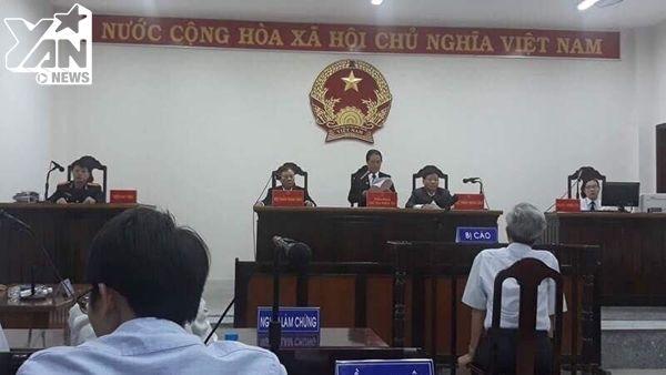 Phiên tòa xét xử bị cáo Nguyễn Khắc Thủy