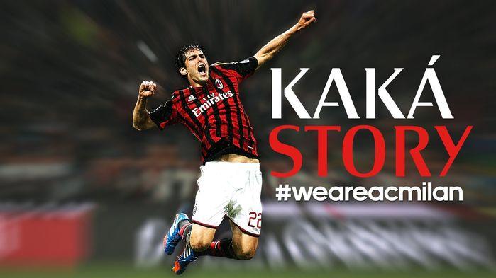 Kaka là một trong những cầu thủ AC Milan được yêu thích nhất trên thế giới.
