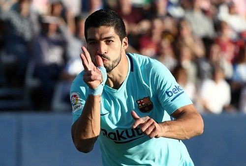 Suarez thi đấu thăng hoa sau chuỗi ngày dài im hơi lặng tiếng.