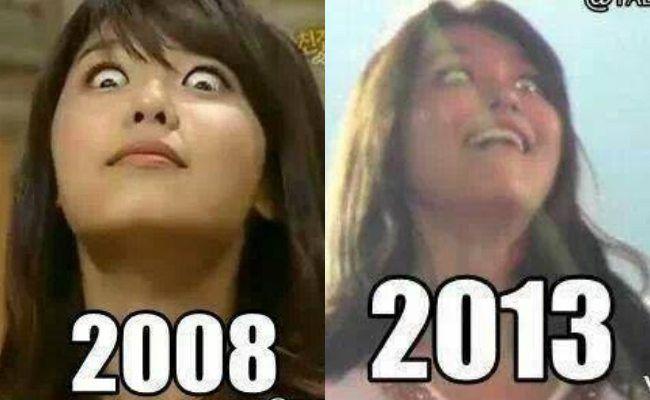 Sooyoung (SNSD) cũng có cằm V-line nữa nè.