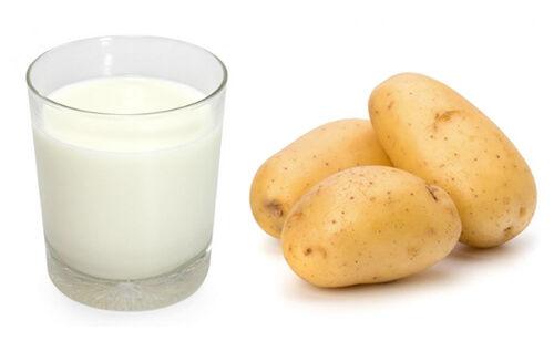 Chế độ ăn rất ít calo từ khoai tây và sữa chua giúp bạn đánh bay 5kg chỉ trong 3 ngày.
