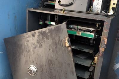 ATM bị cạy phá (Ảnh minh họa)